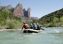 Rafting Río Gállego (1/2 jornada)