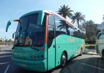 Autobús ida y vuelta (máx. 55 plazas)
