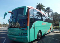 Autobús durante todo el viaje (máx. 50 plazas) - 25 al 29 de Junio