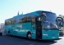Autobús durante todo el viaje (máx. 50 plazas)
