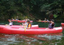 P4: Paquete de Aventura (S) - Día 3: Descenso Río Sella + Visita a Covadonga