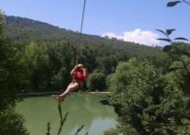 P4-Día 1: Llegada, Tirolina y Escalada