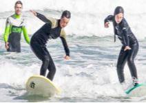 P5-Día 4 (ASC): Curso de Surf + Visita guiada de Baldaio