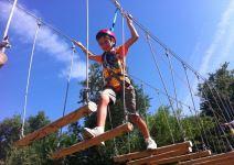 P3C- Día 2: Tirolina, Escalada, Juegos en la Naturaleza, Taller, Tirco con Arco e Hípica