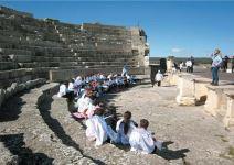 P5CL-Día 1: Visita de Segóbriga, Senderismo y Juegos.