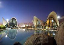 Ciudad de las Artes y las Ciencias: Oceanográfico + Hemisféric (Media Jornada)