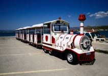 Tren turístico en Toledo (1h)