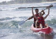P4-MO - Olimpiada deportiva, Kayak y Windsurf - Día 2