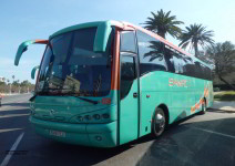 Autobús ida y vuelta (50 plazas máx.)