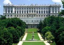 Entrada Palacio Real y Jardines de Sabatini con auriculares (1h30)
