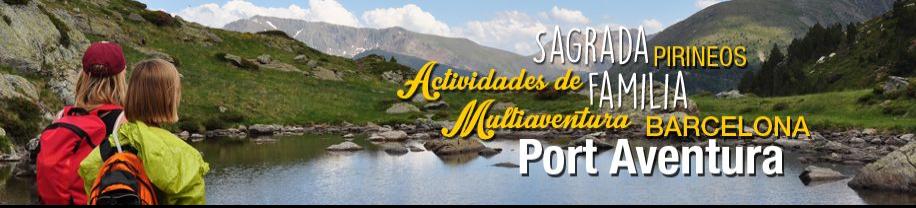 Viaje Fin de Curso al Pirineo, Barcelona y Port  Aventura