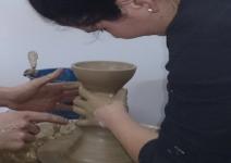Taller de alfarería y pintura cerámica/acrilica (2h)