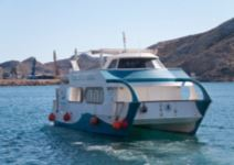 Visita panorámica en barco y fuerte de Navidad