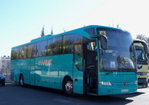 Autobús para traslados ida y vuelta Toledo (máx. 50 plazas)