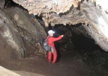 Espeleología en la Cueva del Agua (1h 30min.)