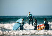 Curso de surf en Gijon