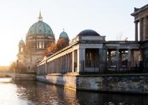 Entrada a la Catedral de Berlín