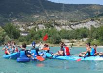 P4 GN: Día 2: Ruta + descenso de barranco acuático