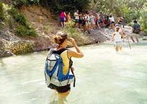 Senderismo acuático por el río Chillar (3h)