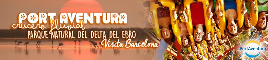 Disfruta tu Viaje Fin de Curso Primaria al Delta del Ebro - Port Aventura - Barcelona en hotel