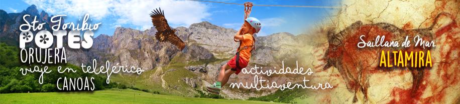 Viaje fin de Curso en Cantabria - Multiaventura