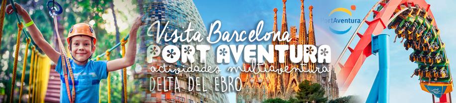Viaje Fin de Curso de Primaria al Delta del Ebro - Barcelona y Port Aventura - En Albergue