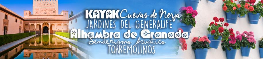 Viaje fin de curso Completo por Granada, Málaga y Córdoba 5 días