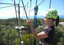 Arborismo + Escalada + Tirolina en Sintra (3 horas)