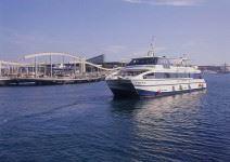 Paseo en Catamarán por el Puerto de Barcelona y litoral (1h)