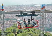 Parque de atracciones del Tibidabo (1/2 jornada)
