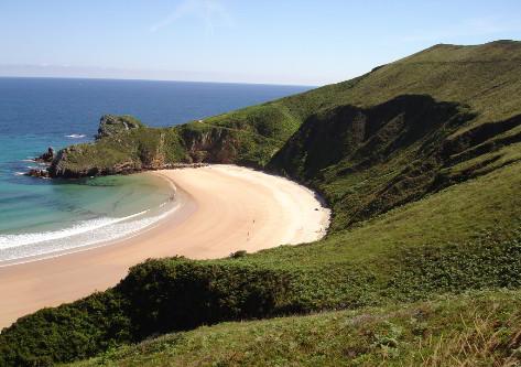 Playas del destino de Asturias