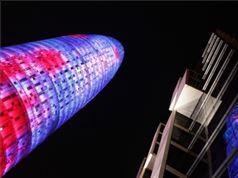 Barcelona, Toree iluminada