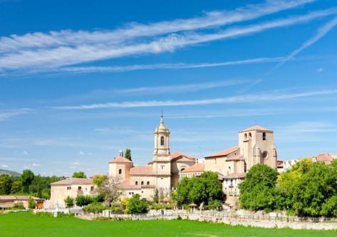 Paisaje del viaje a Burgos