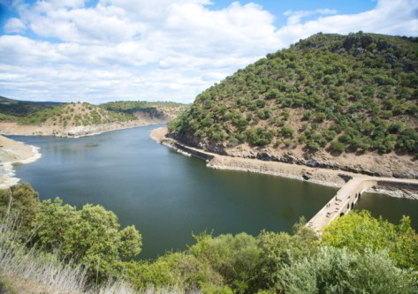 Cáceres, vista del río