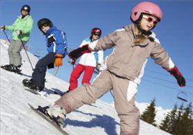 Aprendiendo a Esquiar en Candanchú