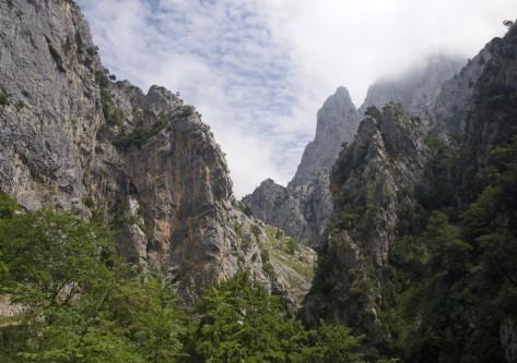 Desfiladero de Cantabria Montañas