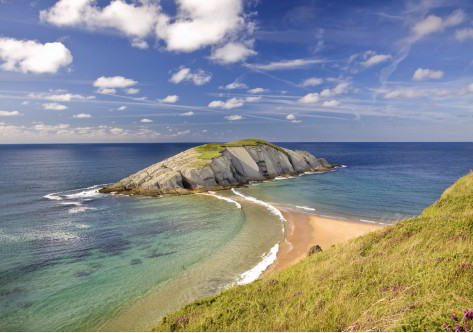 Playas de Cantabria y mar
