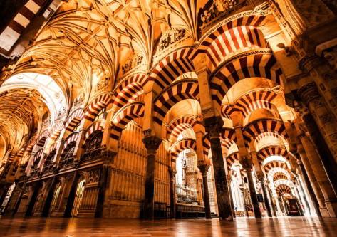 Monumento y iluminado en Córdoba