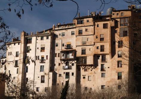 Vista de las casas colgantes