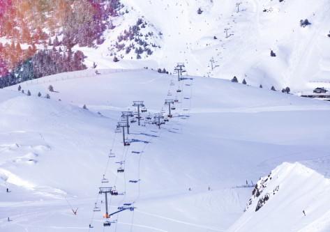 Nieve en pistas de Grandvalira