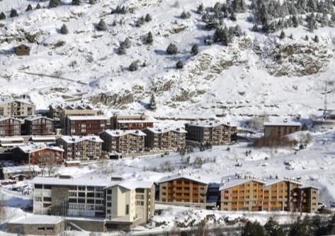 Grandvalira Paisaje Nevado