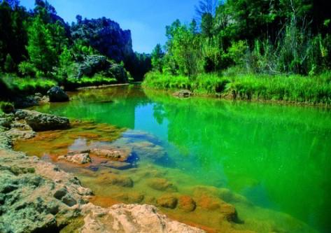 Río en las Hoces del Gabriel