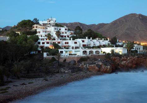 Casas en la costa de Murcia