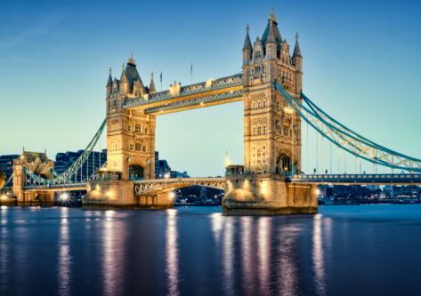 vistas del puente de la torre en Londres inglaterra