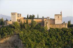 Vista de la Alhambra en el viaje de fin de curso