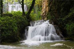 Cascada en el Parque del Monasterio de Piedra