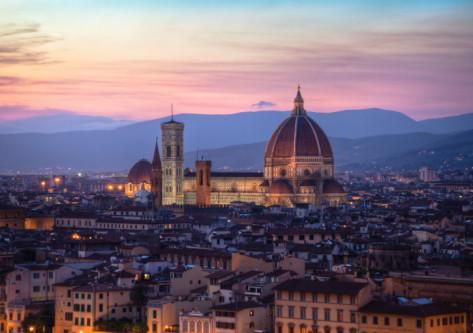 Vista monumento en Roma