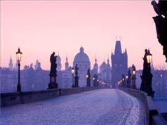 Vistas de un Puente de Praga