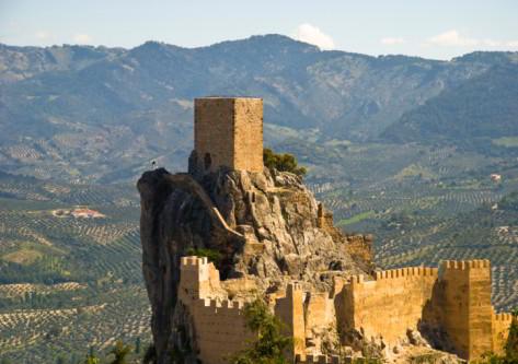 Castillo en la sierra de Cazorla