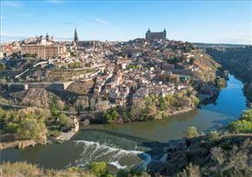 Vista aerea de Toledo
